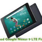 Google Nexus 9 LTE Firmware