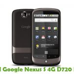 Google Nexus S 4G D720 Firmware