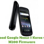 Google Nexus S Korea version M200 Firmware