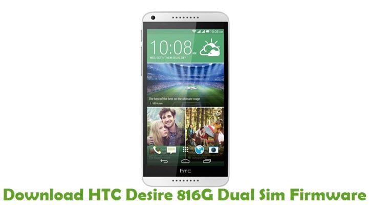Download HTC Desire 816G Dual Sim Firmware