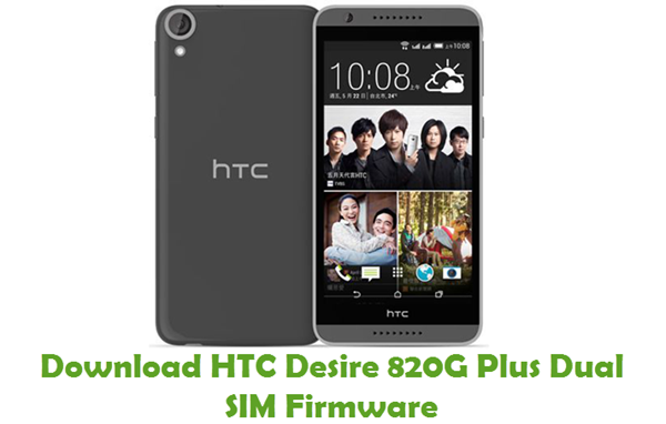Download HTC Desire 820G Plus Dual SIM Stock ROM