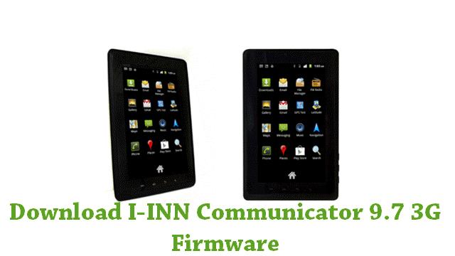 Download I-INN Communicator 9.7 3G Stock ROM