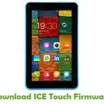 ICE Touch Firmware