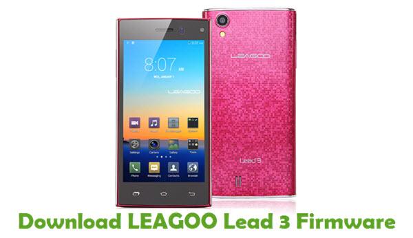 Download LEAGOO Lead 3 Firmware