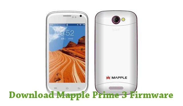 Download Mapple Prime 3 Stock ROM