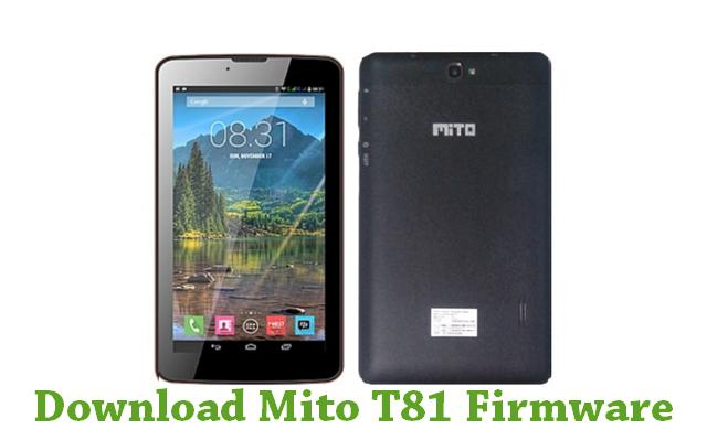 Download Mito T81 Firmware
