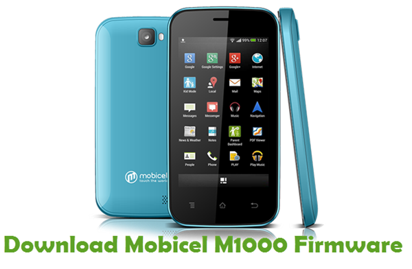 Download Mobicel M1000 Firmware