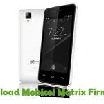 Mobicel Matrix Firmware