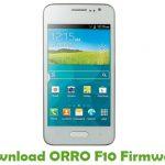 ORRO F10 Firmware