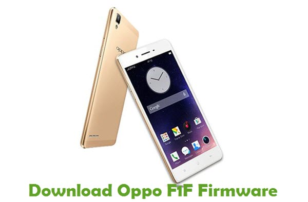 Download Oppo F1F Firmware