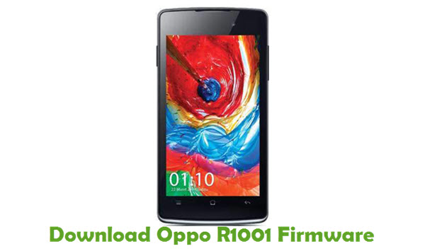 Download Oppo R1001 Firmware