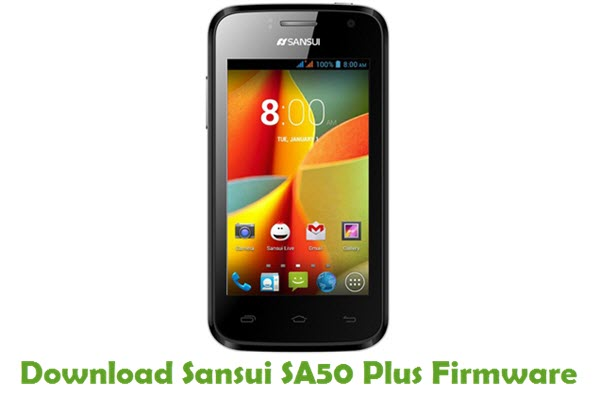 Download Sansui SA50 Plus Firmware