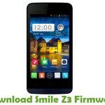 Smile Z3 Firmware