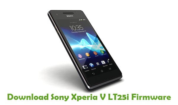 Download Sony Xperia V LT25i Firmware