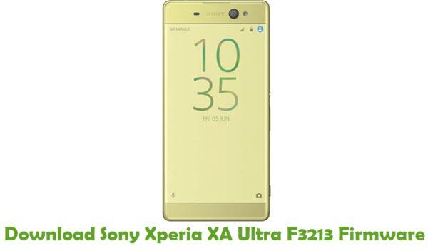 Download Sony Xperia XA Ultra F3213 Stock ROM