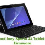 Sony Xperia Z2 Tablet SGP512 Firmware