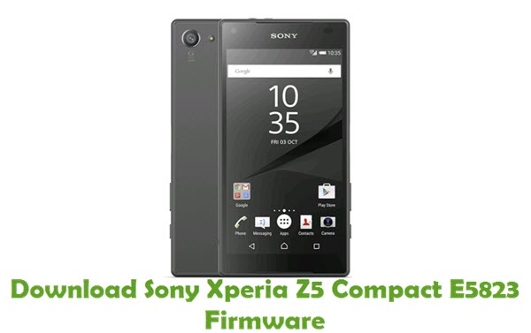 download sony xperia z5 compact e5823 firmware stock rom. Black Bedroom Furniture Sets. Home Design Ideas