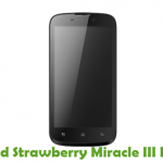 Strawberry Miracle III Firmware