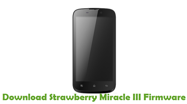 Download Strawberry Miracle III Firmware