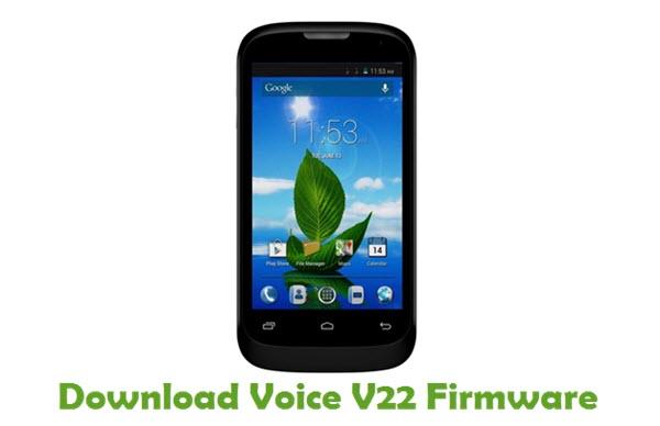 Download Voice V22 Firmware