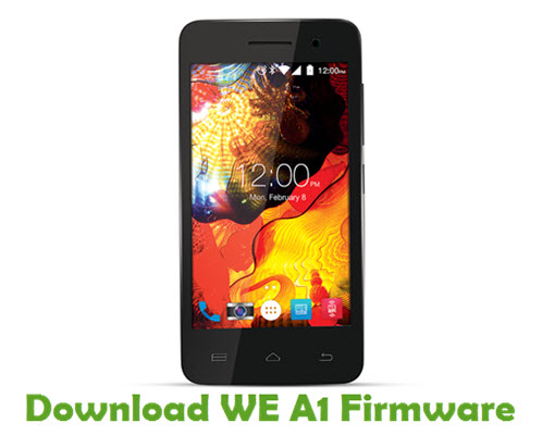 Download WE A1 Firmware
