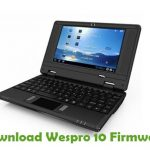 Wespro 10 Firmware
