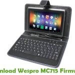 Wespro MC715 Firmware