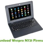 Wespro N721 Firmware