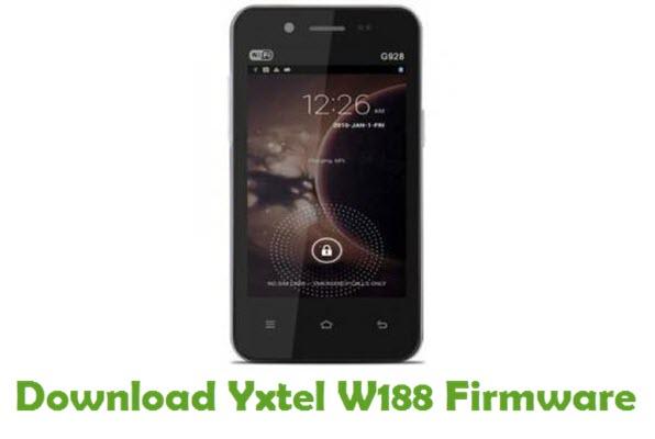 Download Yxtel W188 Firmware