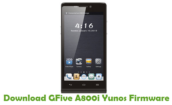 Download GFive A800i Yunos Firmware