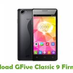 GFive Classic 9 Firmware