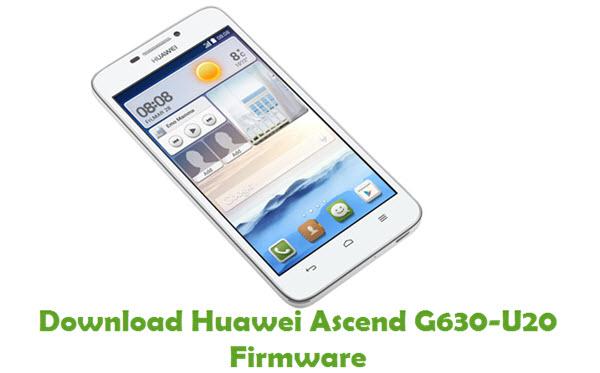 Download Huawei Ascend G630-U20 Stock ROM