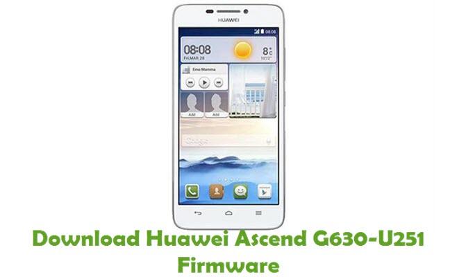 Download Huawei Ascend G630-U251 Stock ROM