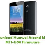Huawei Ascend Mate MT1-U06 Firmware