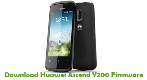 Download Huawei Ascend Y200 Stock ROM