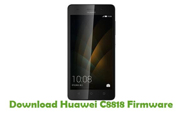 Download Huawei C8818 Stock ROM