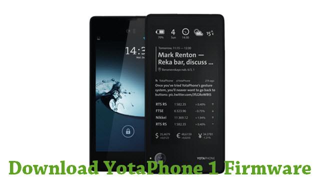Download YotaPhone 1 Firmware