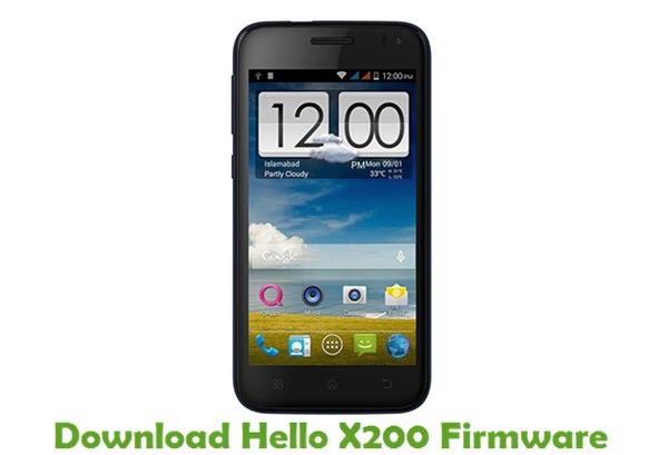 Download Hello X200 Firmware