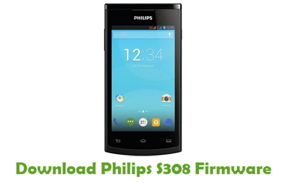 Philips S308 Stock ROM