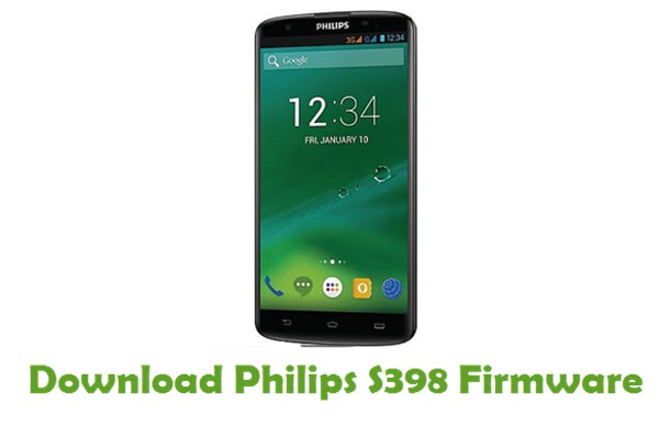Philips S398 Stock ROM