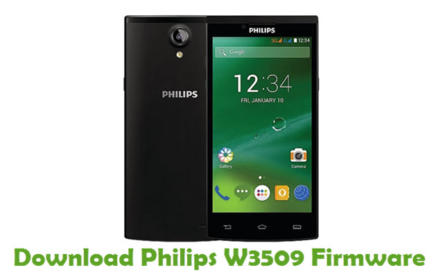Philips W3509 Stock ROM