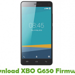 XBO G650 Firmware