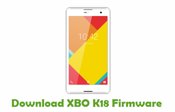 Download XBO K18 Stock ROM