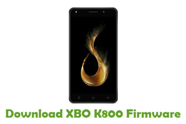 Download XBO K800 Firmware