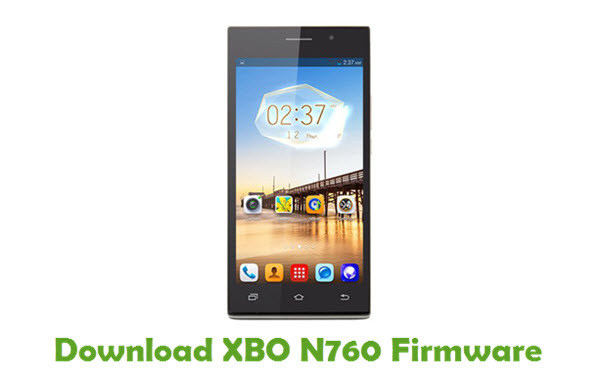 Download XBO N760 Firmware