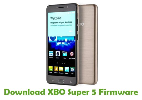 Download XBO Super 5 Firmware