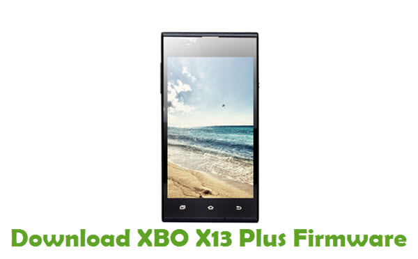 Download XBO X13 Plus Firmware