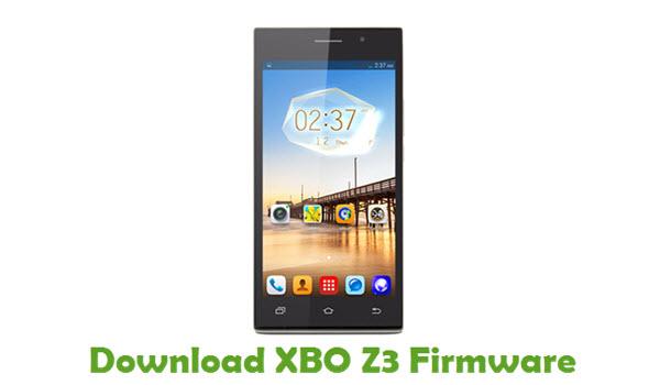 Download XBO Z3 Firmware