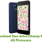 Ziox Astra Champ Plus 4G Firmware