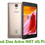 Ziox Astra NXT 4G Firmware